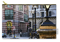 Bank Station In London Carry-all Pouch by Elena Elisseeva