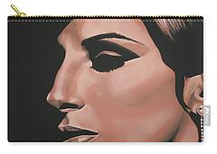 Barbra Streisand Carry-all Pouch by Paul Meijering