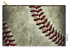 Baseball - A Retired Ball Carry-all Pouch by Paul Ward