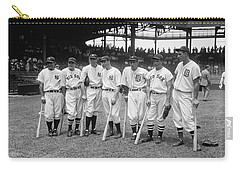 Baseball All Star Sluggers Carry-all Pouch by Underwood Archives
