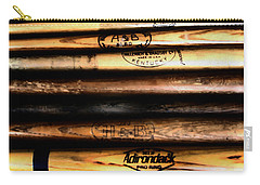 Baseball Bats Carry-all Pouch by Bill Cannon