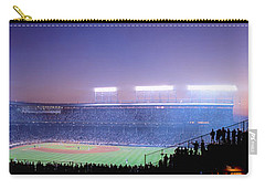 Baseball, Cubs, Chicago, Illinois, Usa Carry-all Pouch by Panoramic Images