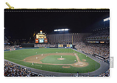 Baseball Game Camden Yards Baltimore Md Carry-all Pouch by Panoramic Images