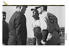 Baseball Umpire Dispute Carry-all Pouch by Underwood Archives