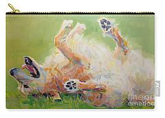 Bears Backscratch Carry-all Pouch by Kimberly Santini
