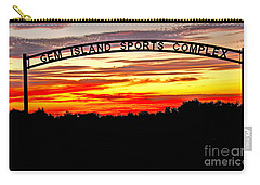 Beautiful Sunset And Emmett Sport Comples Carry-all Pouch by Robert Bales