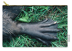 Beaver Foot Carry-all Pouch by Stephen J Krasemann