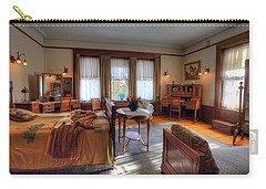 Bedroom Glensheen Mansion Duluth Carry-all Pouch by Amanda Stadther