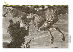 Bellerophon Fights The Chimaera, 1731 Carry-all Pouch by Bernard Picart
