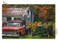 Best Friends Carry-all Pouch by Debra and Dave Vanderlaan