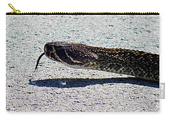 Beware Of Me Carry-all Pouch by Karen Wiles