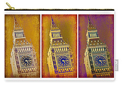 Big Ben Triptych 1 Carry-all Pouch by Stephen Stookey