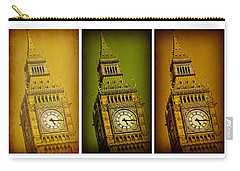 Big Ben Triptych 2 Carry-all Pouch by Stephen Stookey