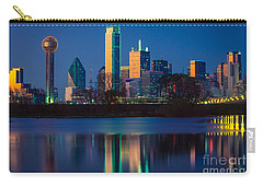 Big D Reflection Carry-all Pouch by Inge Johnsson
