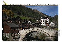 Carry-all Pouch featuring the photograph Binn by Travel Pics