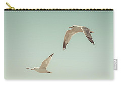 Birds Of A Feather Carry-all Pouch by Lucid Mood