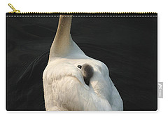 Birds Of A Feather Stick Together Carry-all Pouch by Bob Christopher