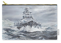 Bismarck Off Greenland Coast  Carry-all Pouch by Vincent Alexander Booth