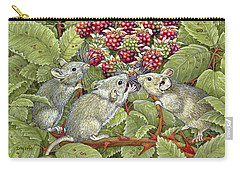 Blackberrying Carry-all Pouch by Ditz