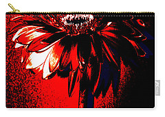 Bloody Mary Zinnia Carry-all Pouch by Sherry Allen
