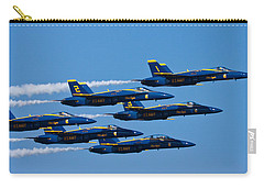 Blue Angels Carry-all Pouch by Adam Romanowicz