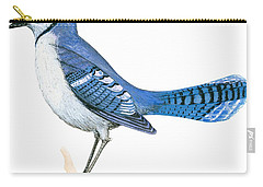 Blue Jay  Carry-all Pouch by Anonymous