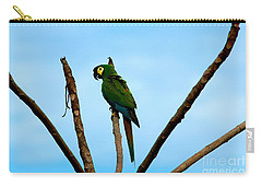 Blue-winged Macaw, Brazil Carry-all Pouch by Gregory G. Dimijian, M.D.