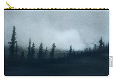 Blue Woods Carry-all Pouch by Priska Wettstein