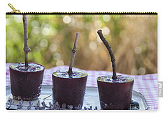 Blueberry Ice Pops Carry-all Pouch by Juli Scalzi