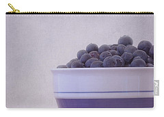 Blueberry Splash Carry-all Pouch by Kim Hojnacki