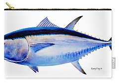 Bluefin Tuna Carry-all Pouch by Carey Chen