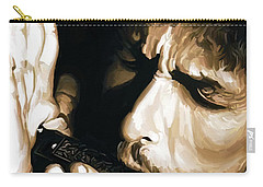 Bob Dylan Artwork 2 Carry-all Pouch by Sheraz A