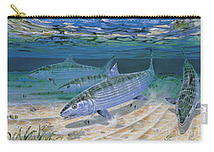 Bonefish Flats In002 Carry-all Pouch by Carey Chen