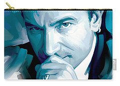 Bono U2 Artwork 4 Carry-all Pouch by Sheraz A