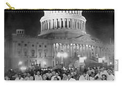 Bonus Army Sleeps At Capitol Carry-all Pouch by Underwood Archives