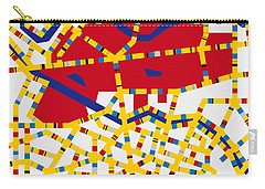 Boogie Woogie Berlin Carry-all Pouch by Chungkong Art