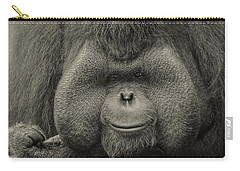 Bornean Orangutan II Carry-all Pouch by Lourry Legarde