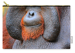 Bornean Orangutan Iv Carry-all Pouch by Lourry Legarde