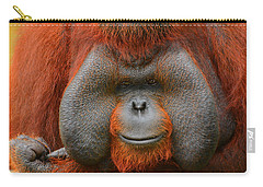 Bornean Orangutan Carry-all Pouch by Lourry Legarde