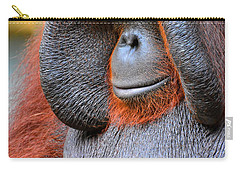 Bornean Orangutan Vi Carry-all Pouch by Lourry Legarde