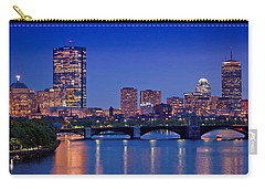 Boston Nights 2 Carry-all Pouch by Joann Vitali