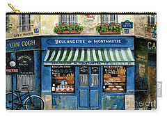 Boulangerie De Montmartre Carry-all Pouch by Marilyn Dunlap