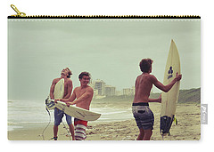 Boys Of Summer Carry-all Pouch by Laura Fasulo