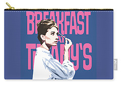 Breakfast At Tiffany's Carry-all Pouch by Douglas Simonson
