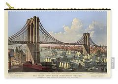 Brooklyn Bridge Carry-all Pouch by Gary Grayson