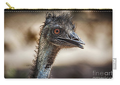 Brown-eyed Girl Carry-all Pouch by Douglas Barnard