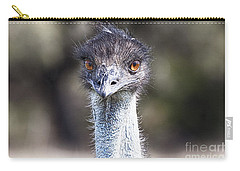 Brown-eyed Girl V2 Carry-all Pouch by Douglas Barnard