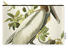 Brown Pelican Carry-all Pouch by John James Audubon