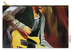 Bruce Springsteen Artwork Carry-all Pouch by Sheraz A