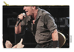 Musician Bruce Springsteen Carry-all Pouch by Concert Photos